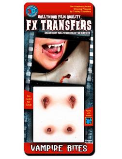 Vampire Bites, Easy to Apply FX Transfers