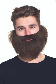 Brown Ugly Bushy Sailor Beard.