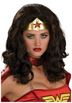 Wonder Woman Wig & Crown
