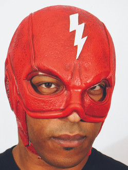 Super Hero Mask with Flash Bolt