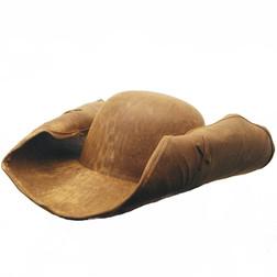 Leather Like Pirate Weathered Tri-Corn Hat