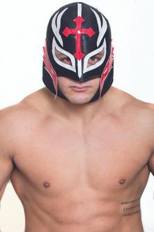 Mexican Wrestler Cross Mask