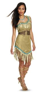 Prestige Pocahontas Costume - Plus Size