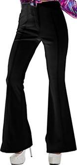 Black Disco Queen Pants