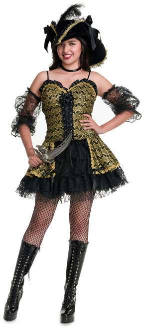 Black Pearl Beauty Pirate Costume