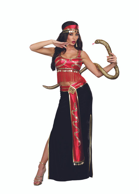 Ladies Snake Charmer Costume