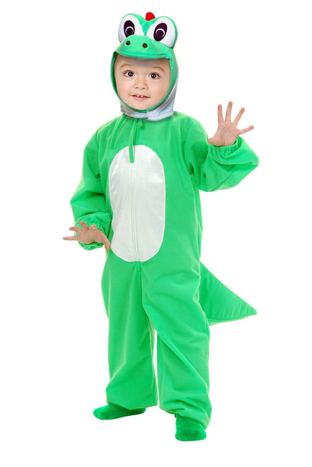 Toddler's Yoshi Dragon Super Mario Costume