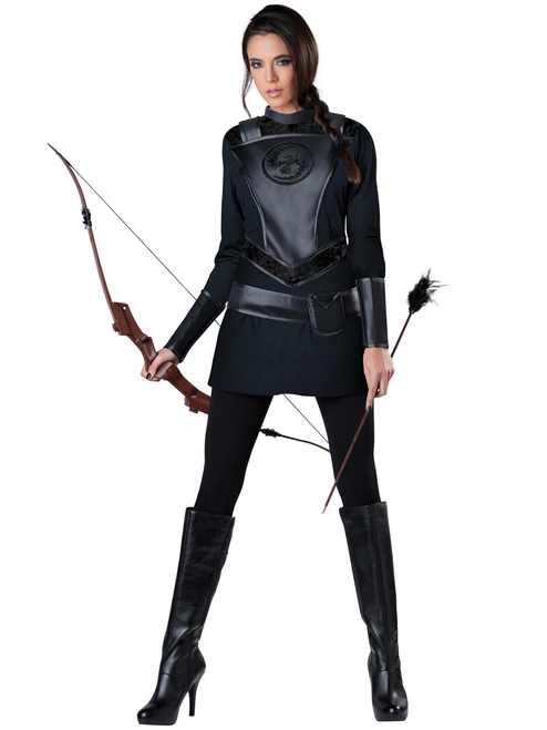 Ladies Warrior Huntress Costume