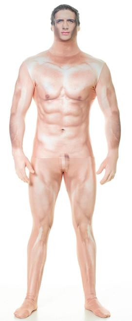 Censored Naked Man Morphsuit