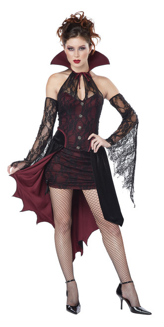 Vixen Vampire Ladies Halloween Costume