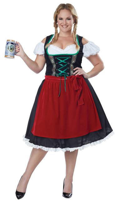 Oktoberfest Fraulein Costume - Plus Size