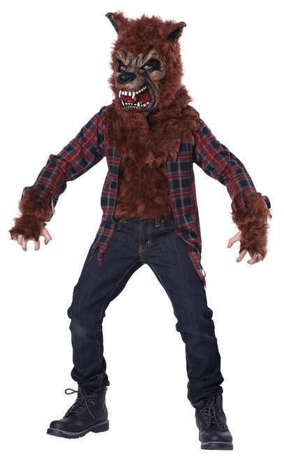 Kids Blood Moon Werewolf Costume