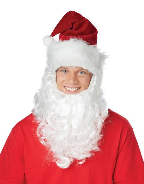 Santa Claus Hat and Beard Combo