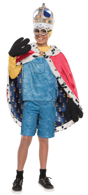 Minion King Bob Cape