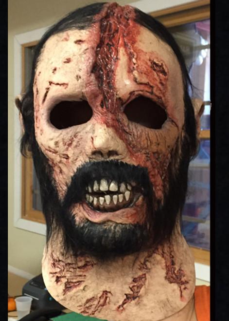 Beard Walker Mask, Walking Dead Zombie Mask