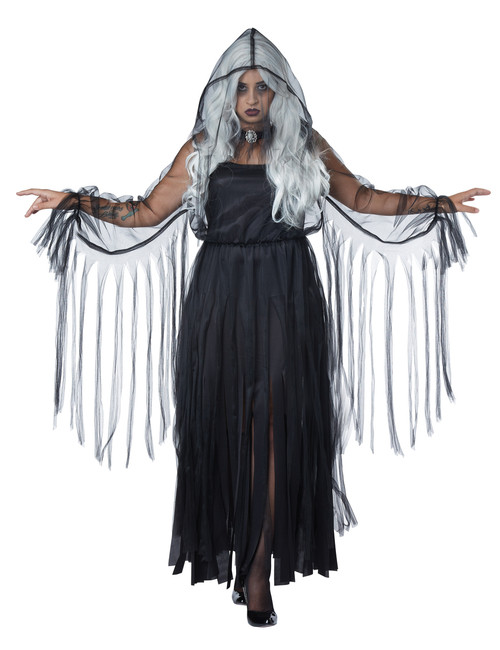 Vengeful She-Spirit Ghost Costume - Plus Size