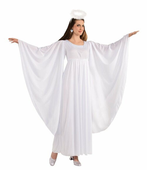 Long Angel Dress Costume