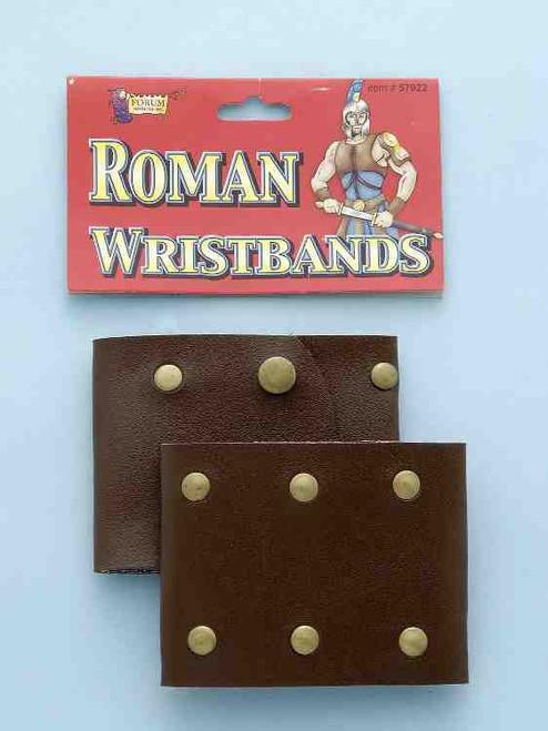Roman Wristband Cuff Set