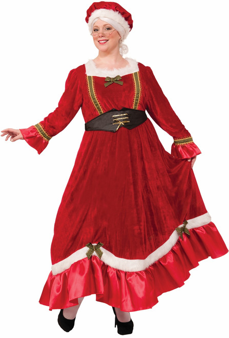 Mrs. Claus Classic Christmas Costume - Plus Size