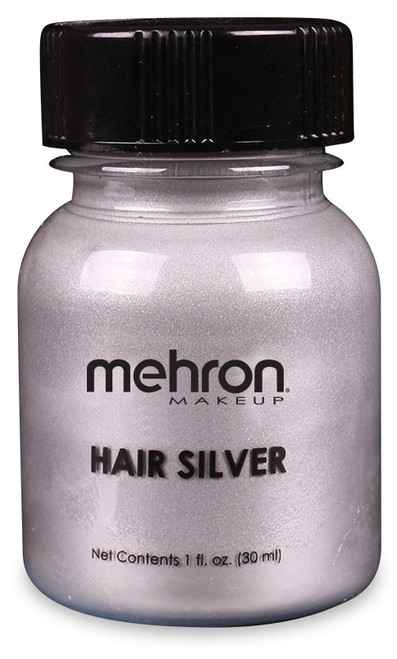 Mehron Hair Silver Colourant - 1oz