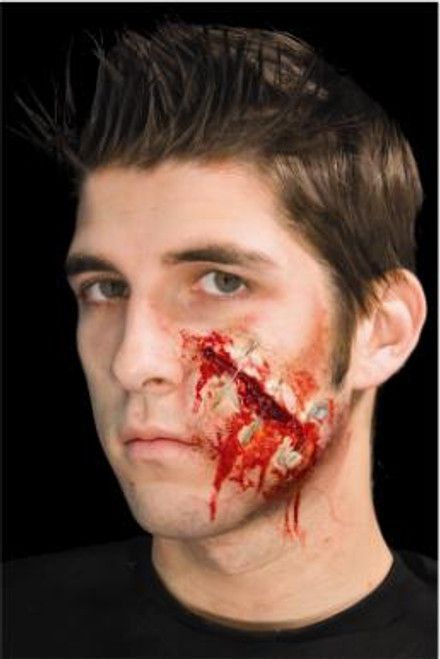Scar Safety Pinned Prosthetic