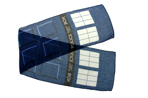 Lightweight Doctor Who Scarf