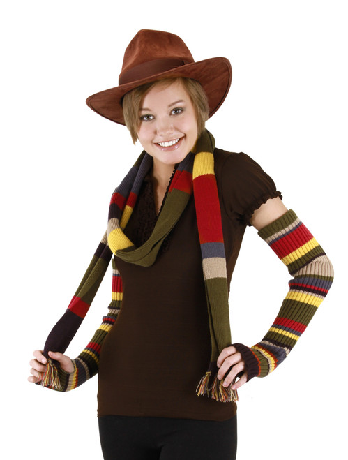 4th Doctor Who Fedora Hat