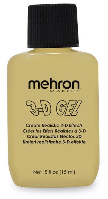 Mehron 3D Gel Clear Gelatin Effects - 1/2oz