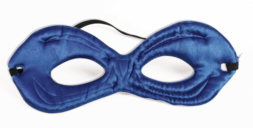 Blue and Green Reversible Eye Mask