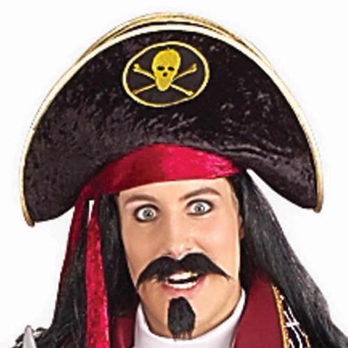 Basic Velvet Pirate Hat