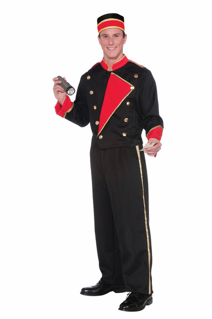 Vintage Hollywood Movie Usher Costume