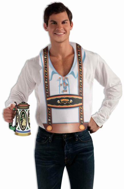 Fun Male Oktoberfest Vest