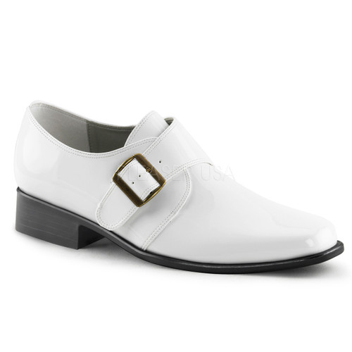Mens White Loafer Shoe