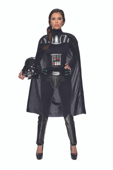 Ladies Darth Vader Jumpsuit Costume