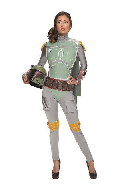 Ladies Boba Fett Jumpsuit Costume