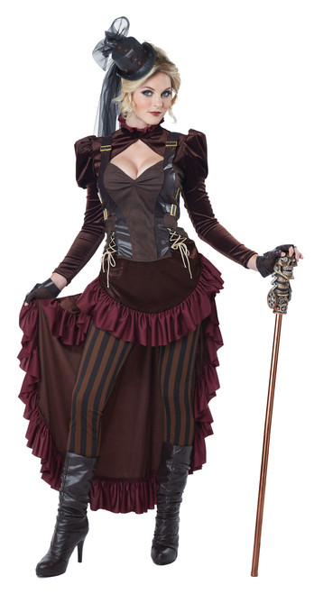 Ladies' Victorian Steampunk Costume