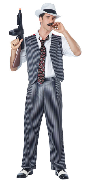 Men's Mobster Costume