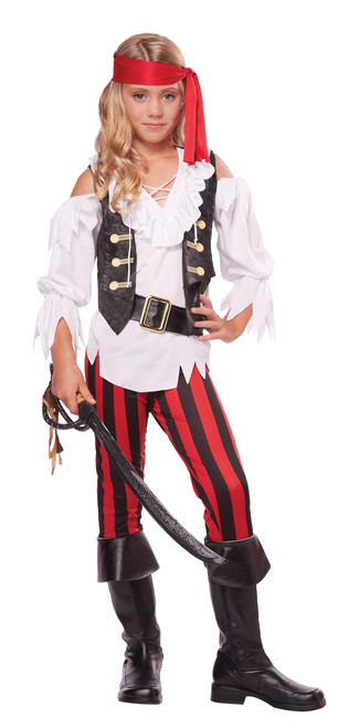 Children's Pretty Posh Pirate Costume