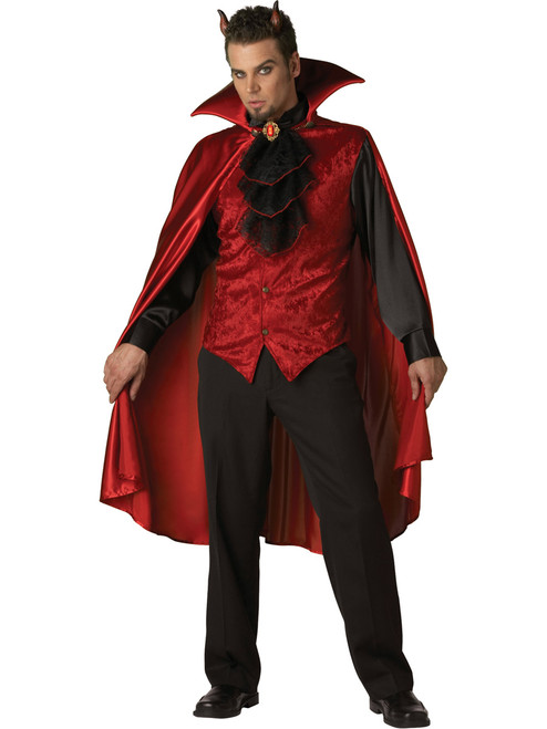 Mens Dashing Devil Halloween Costume
