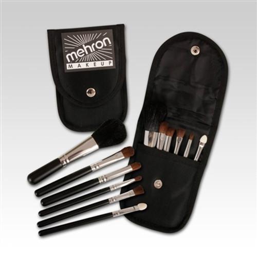 6 pc Mini Makeup Brush Kit