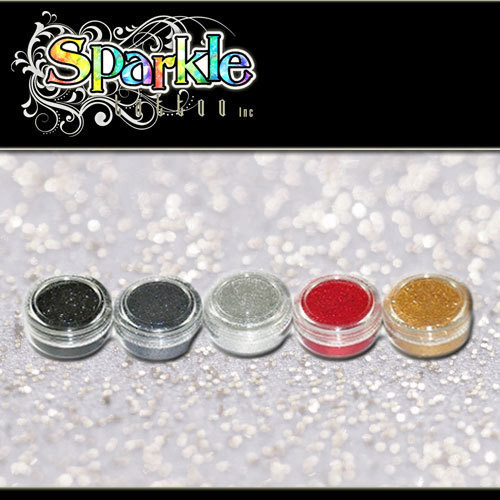 Metal Glitter Collection Sparkle Tattoos