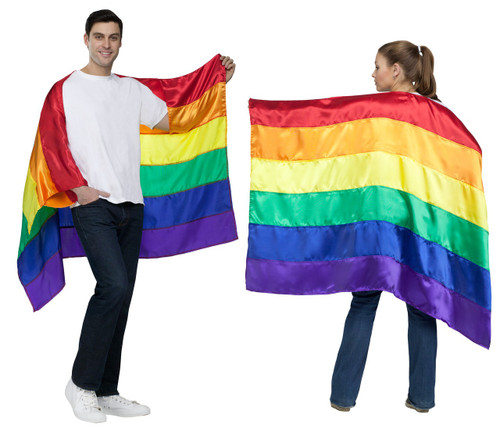 Rainbow Pride Flag Cape