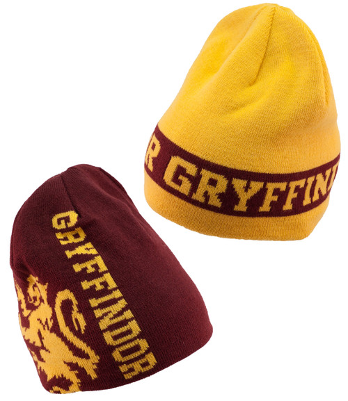 Reversible Gryffindor Harry Potter Beanie Hat