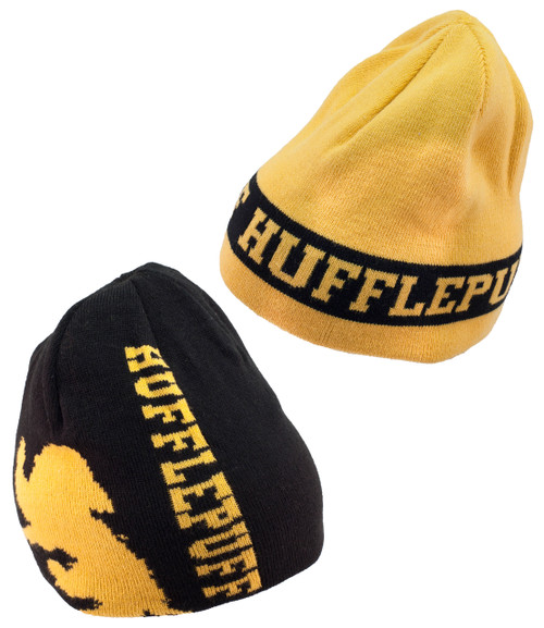 Reversible Hufflepuff Harry Potter Beanie