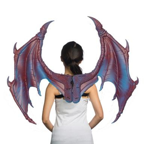 Large Dragon Wings - Purple