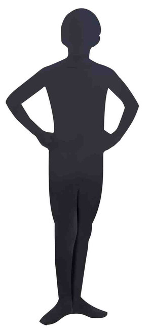 Disappearing Man Black Stage Hand Teen Costume