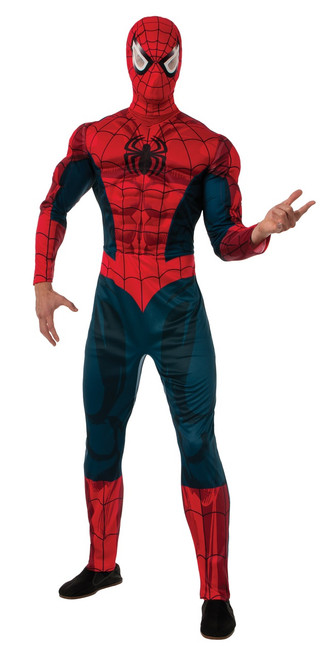 Classic Marvel Muscle Spider-Man Adult Costume