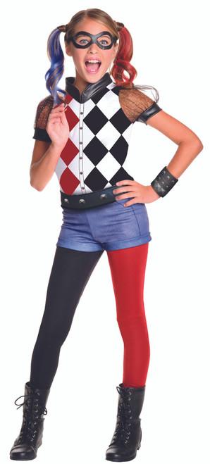 Children's Harley Quinn DC Superhero Costume