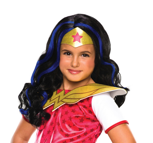 Children's Wonder Woman DC Superhero Wig