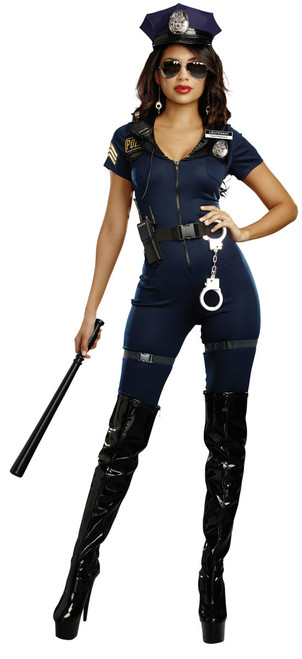 Lieutenant Ivana Misbehave Women's Costume